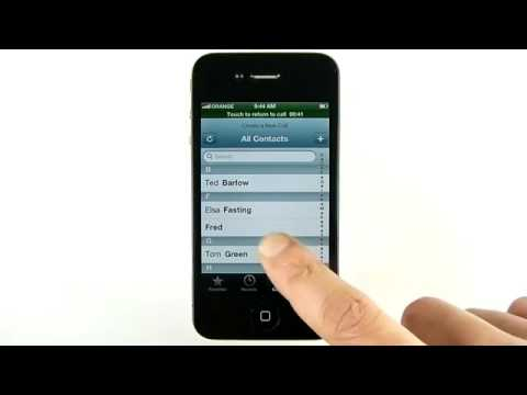 iPhone  Conference Calls iOS 6 [IMAL]
