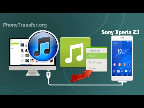 [TunesGo for Android]: How to Sync Music / Playlist from iTunes to Sony Xperia Z3 on Mac