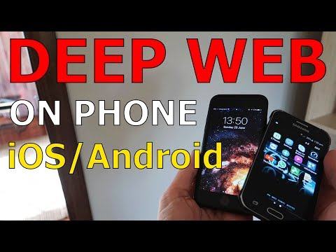 Deep Web On Phone Tutorial iOS / Android Mobile Device Tutorial