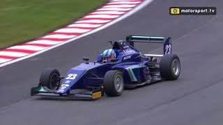 Billy Monger makes a remarkable return to racing