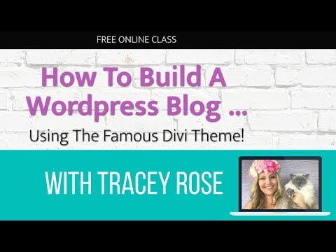 [FULL CLASS] How To Build A Wordpress Blog Using The Famous Divi Theme