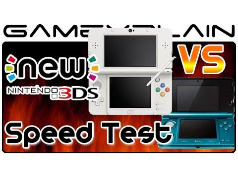 New Nintendo 3DS Speed Test vs Old 3DS (Download Speeds & Smash Bros Load Times)