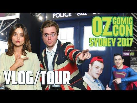 Jenna Coleman, X-Wings & Sweaty Nerds | Oz Comic Con Vlog