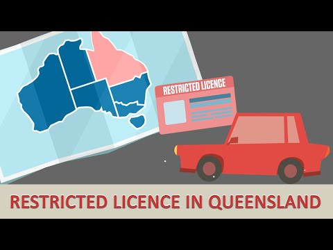 Eligibility for a restricted licence in Queensland