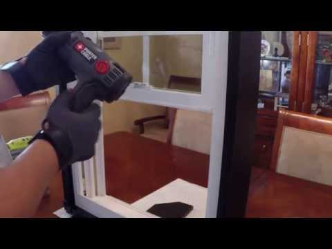 How to Replace Window Balance - Heat Gun