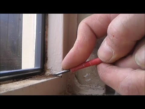 How to treat rust on steel window frames