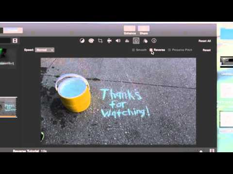 HOW TO REVERSE A VIDEO IN IMOVIE (2018)