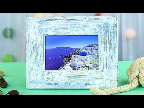 How to Make a Vintage Photo Frame