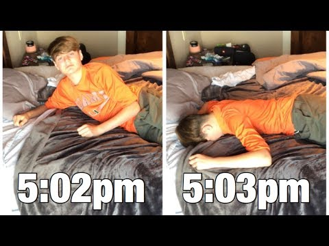 How to Fall Asleep in 60 SECONDS! (How to Fall Asleep Fast if You Have Trouble Falling Asleep)