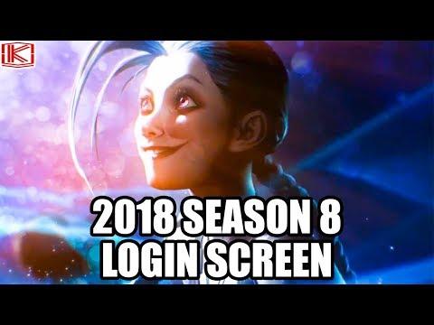 2018 SEASON 8 LOGIN SCREEN (Part 2) - League of Legends