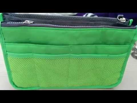 Nylon Travel Handbag Makeup Cosmetic Organizer Storage Net Case Insert Pouch BagPouch Bag