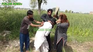 tharki baba  Hotvillage life rural life in punjab   baba and aunty new video 2021 by punjabi rung tv
