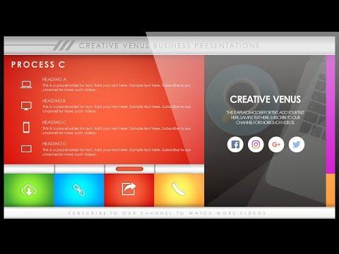 How To Create Beautiful Process, Steps, Timeline Presentation Slides Template in PowerPoint PPT
