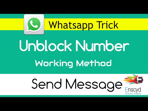How to Send Message to Blocked Number on Whatsapp [Trick]