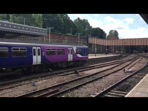 Northern Rail 150116 At Sheffield From Leeds To Nottingham