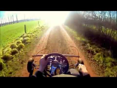 homemade buggy 140cc pitbike engine Go pro