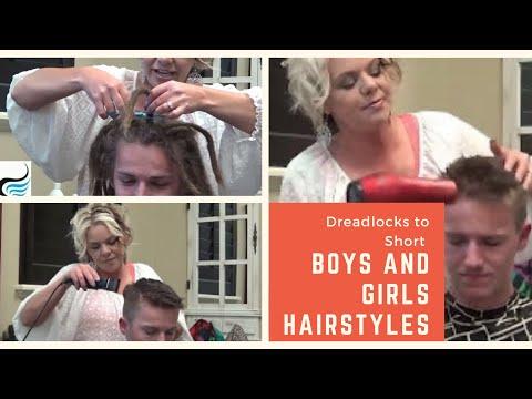 Dreadlock Removal To Short Mens Haircut Hairstyles  (Cut Dreadlocks Off)