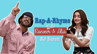 Ranveer Singh's LIVE RAP with Alia Bhatt | Rap-a-Rhyme | GULLY BOY | Mirchi Suren