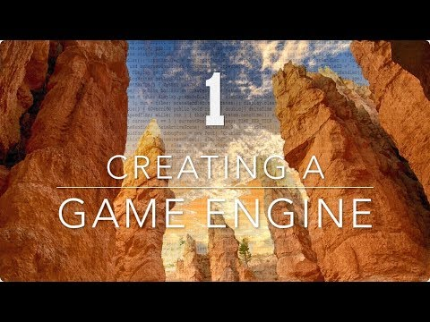 Creating a Game Engine 1 - Coding Time-Lapse