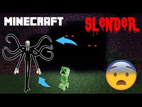 FÉLELMETES SLENDERMAN A Minecraftban | Slender Mod