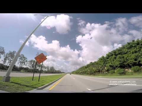 Scenic drive - Ft Myers to Everglades City - Florida