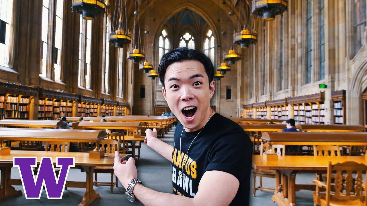 What's It Like Inside University of Washington   UW Campus Crawl Tour