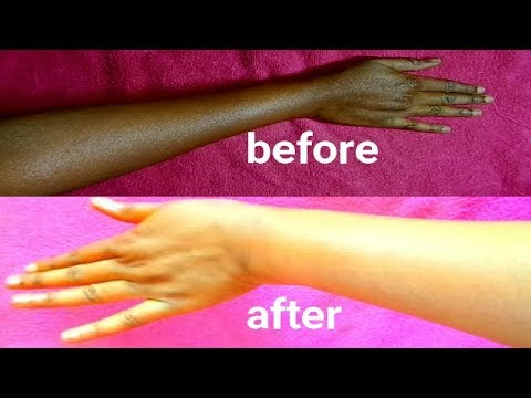 5 MINUTES SKIN WHITENING FOAMING SKIN BLEACH GET WHITER AND FAIRER SKIN