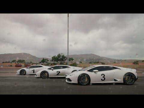 FH3- AUTO Vs MANUAL Vs MANUAL W/CLUTCH