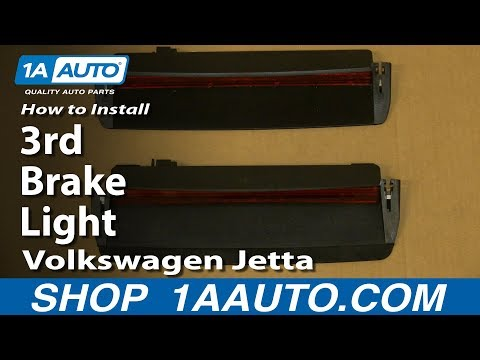 How To Install Replace 3rd Brake Light 2005-10 Volkswagen Jetta