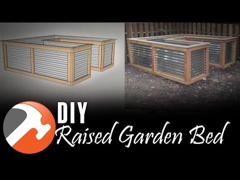 DIY Raised Garden Bed - Under $300