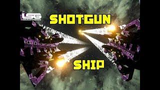 One Shot Shotgun Ship - Space Engineers