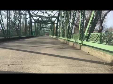 American River Bike Trail 2017 winter damage and chaos