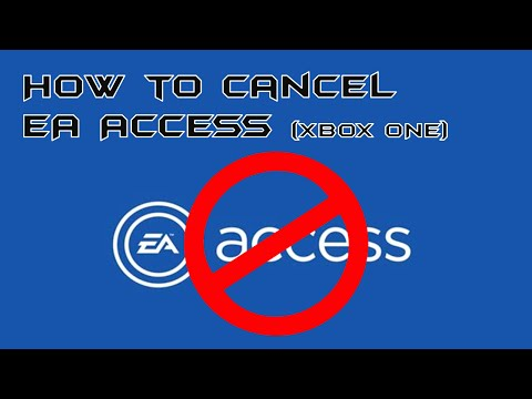 How to Cancel EA Access (Xbox One)
