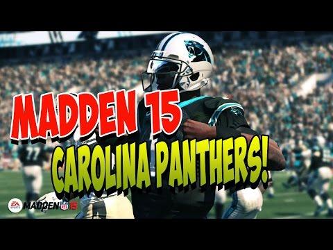 Madden 15 | Carolina Panthers SHOTGUN Formation | Glitch WR Routes | Madden 15 Playbooks