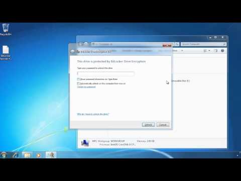 MCTS 70-680: Bitlocker To Go