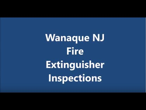 Wanaque Fire Extinguisher Inspections