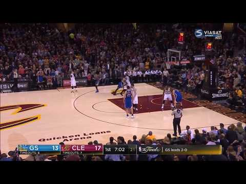 Cheating! Warriors Scored 15 Points Due to 5 Uncalled Illegal Screens - NBA Finals 2017 Game 3