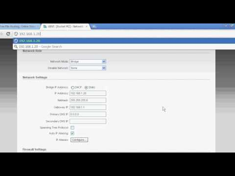 Configuration of UBNT Rocket M2 - PakVim net HD Vdieos Portal