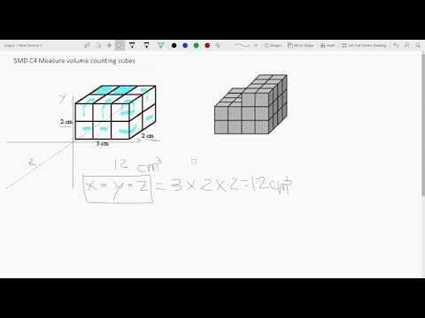 5MD C4 Measure volume counting cubes