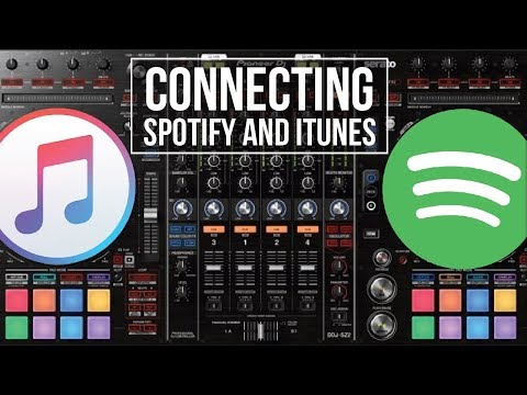 Playing Spotify and iTunes through your Pioneer DJ Decks