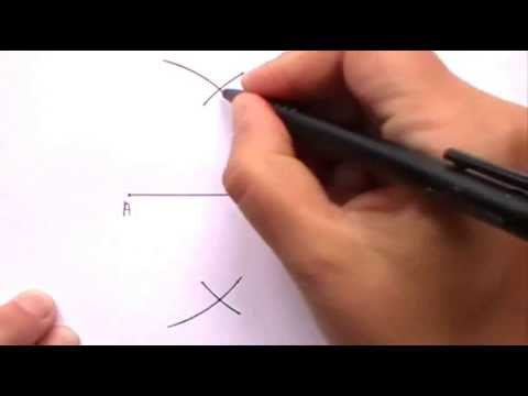 Constructing the Perpendicular Bisector of a Line Segment