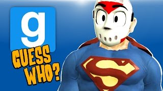 Gmod Ep. 50 GUESS WHO? - JUSTICE LEAGUE VS THE JOKER! (Garry