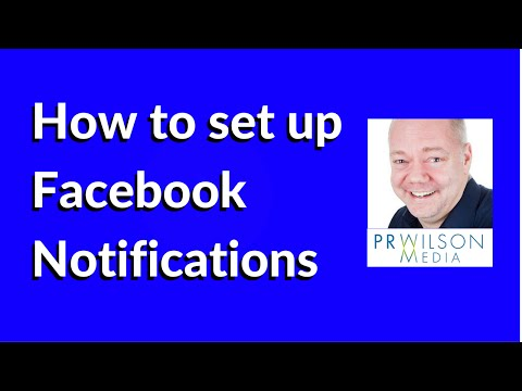 How to set up Facebook Notifications