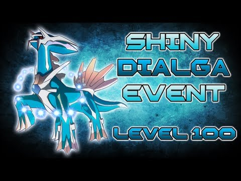 Pokémon Black and White 2 - Level 100 Gamestop Shiny Dialga Event