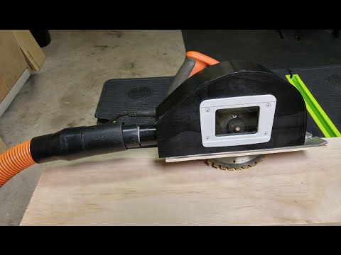 Circular Saw Dust Collection Add On