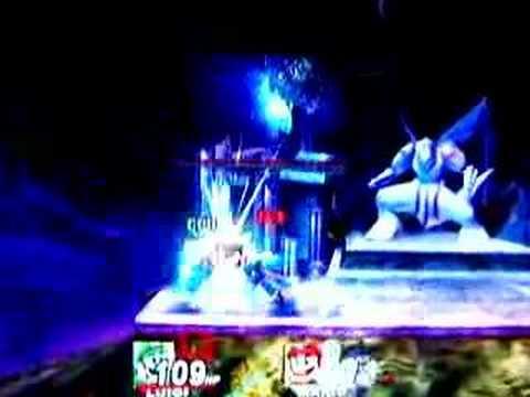 SSBB: Luigi vs. Mario on Stage-Spear Pillar