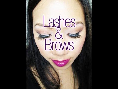 Lashes & Brows!  - Feb 2014 - Atlanta Makeup Meetup