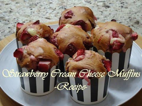 Strawberry Cream Cheese Muffins -Recipe- | Ep #30