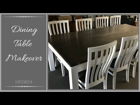 FURNITURE MAKEOVER | Dining Table