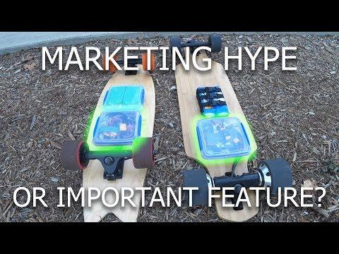 Electric Skateboard Regenerative Braking | Testing